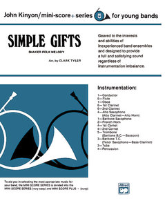 Simple Gifts (Shaker Folk Tune)