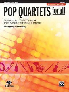 Pop Quartets for All (B-Klarinette, Bassklarinette)