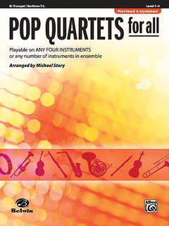 Pop Quartets for All (Trompete in B, Bariton T.C.)