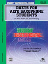 Student Instrumental Course: Duets for Alto Saxophone...