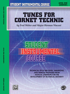 Student Instrumental Course: Tunes for Cornet Technic, Level I