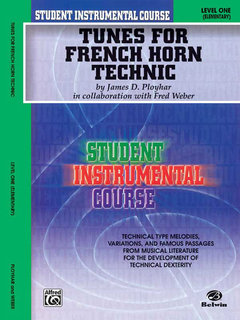 Student Instrumental Course: Tunes for French Horn Technic, Level I