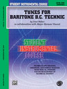 Student Instrumental Course: Tunes for Baritone Technic,...