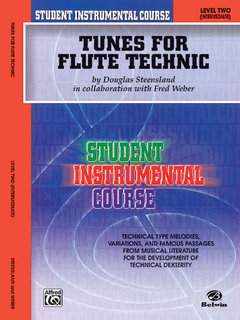 Student Instrumental Course: Tunes for Flute Technic, Level II