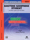 Student Instrumental Course: Baritone Saxophone Student,...