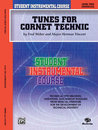 Student Instrumental Course: Tunes for Cornet Technic,...