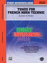 Student Instrumental Course: Tunes for French Horn...