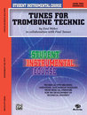 Student Instrumental Course: Tunes for Trombone Technic,...