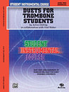 Student Instrumental Course: Duets for Trombone Students,...
