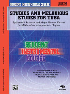 Student Instrumental Course: Studies and Melodious Etudes for Tuba, Level II
