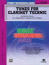 Student Instrumental Course: Tunes for Clarinet Technic,...