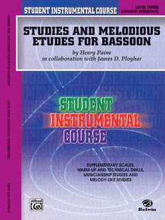 Student Instrumental Course: Studies and Melodious Etudes for Bassoon, Level III