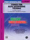 Student Instrumental Course: Tunes for Alto Saxophone...