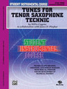 Student Instrumental Course: Tunes for Tenor Saxophone...