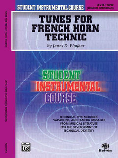 Student Instrumental Course: Tunes for French Horn Technic, Level III