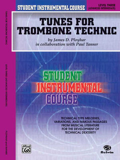 Student Instrumental Course: Tunes for Trombone Technic, Level III