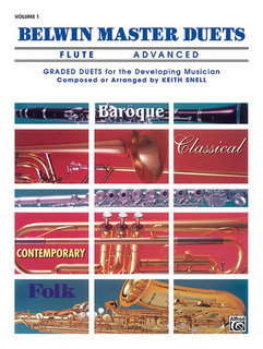 Belwin Master Duets (Trumpet), Advanced Volume 1