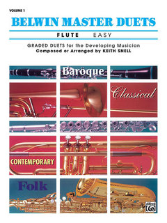 Belwin Master Duets (Flute), Easy Volume 1