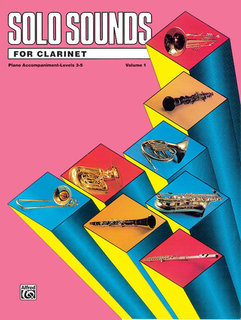 Solo Sounds for Clarinet, Levels 3-5
