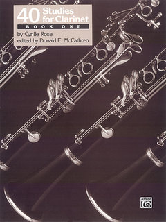 40 Studies for Clarinet, Book 1