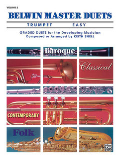 Belwin Master Duets (Trumpet), Easy Volume 2