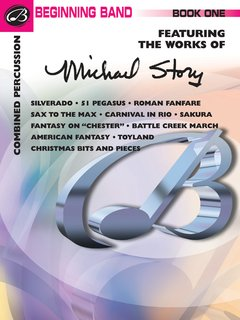 Belwin Beginning Band, Book One (featuring the works of Michael Story) - Combined Percussion Buch
