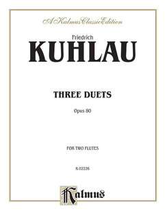Three Duets, Op. 80