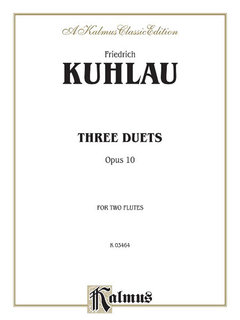 Three Duets for Two Flutes, Op. 10