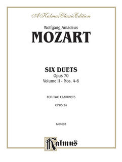 Six Duets, Volume II (Nos. 4-6)