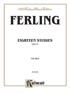 Eighteen Studies, Op. 12
