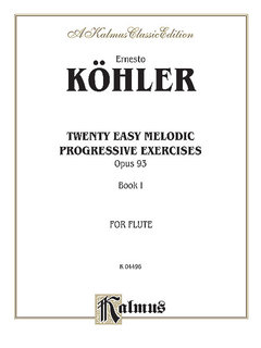 Twenty Easy Melodic Progressive Exercises, Op. 93, Volume I