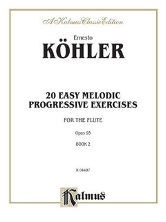 Twenty Easy Melodic Progressive Exercises, Op. 93, Volume II