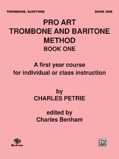Pro Art Trombone and Baritone Method