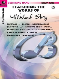 Belwin Beginning Band, Book One (featuring the works of Michael Story) - Conductor Buch und CD