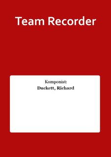 Team Recorder