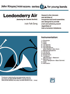 Londonderry Air (featuring the Clarinet section)