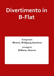 Divertimento in B-Flat