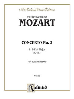 Horn Concerto No. 3 in E-Flat Major, K. 447 (Orch.)