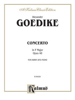 Concerto for Horn and Orchestra