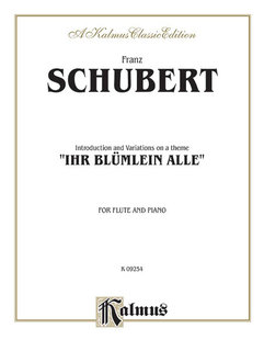 Introduction and Variations on a Theme Ihr Blümlein Alle, Op. 160