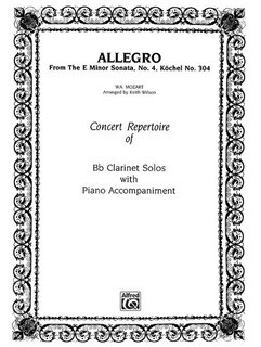 Allegro (from E Minor Sonata #4)