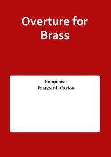Overture for Brass