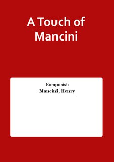 A Touch of Mancini