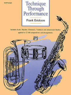 Technique Through Performance - 1st B-Flat Trumpet Buch