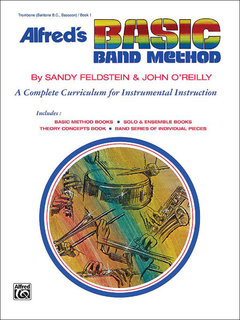 Alfreds Basic Band Method, Book 1 - Trombone (Baritone B.C., Bassoon) Buch