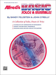 Alfreds Basic Solos and Ensembles, Book 1 - Clarinet, Bass Clarinet Buch