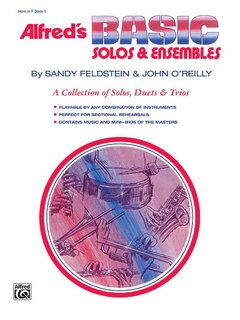 Alfreds Basic Solos and Ensembles, Book 1 - Cornet, Baritone T.C. Buch