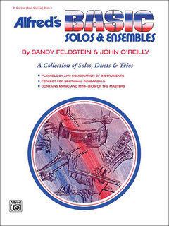 Alfreds Basic Solos and Ensembles, Book 2 - Clarinet (Bass Clarinet) Buch
