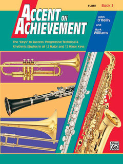 Accent on Achievement, Book 3 - Flute Buch
