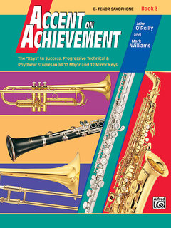 Accent on Achievement, Book 3 - B-Flat Tenor Saxophone Buch